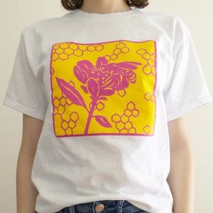 Limited Edition Artist Made Honeycomb Tee Shirt